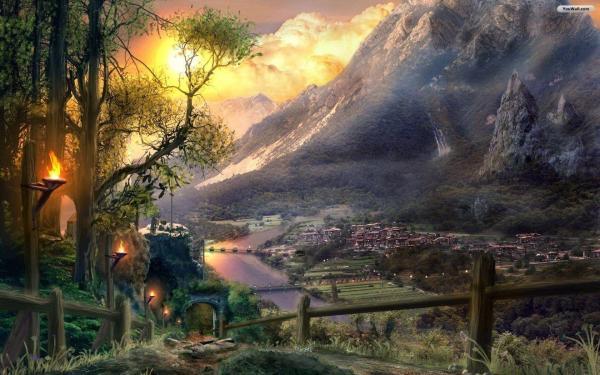 Fantasy World Wallpapers Wallpaper Cave