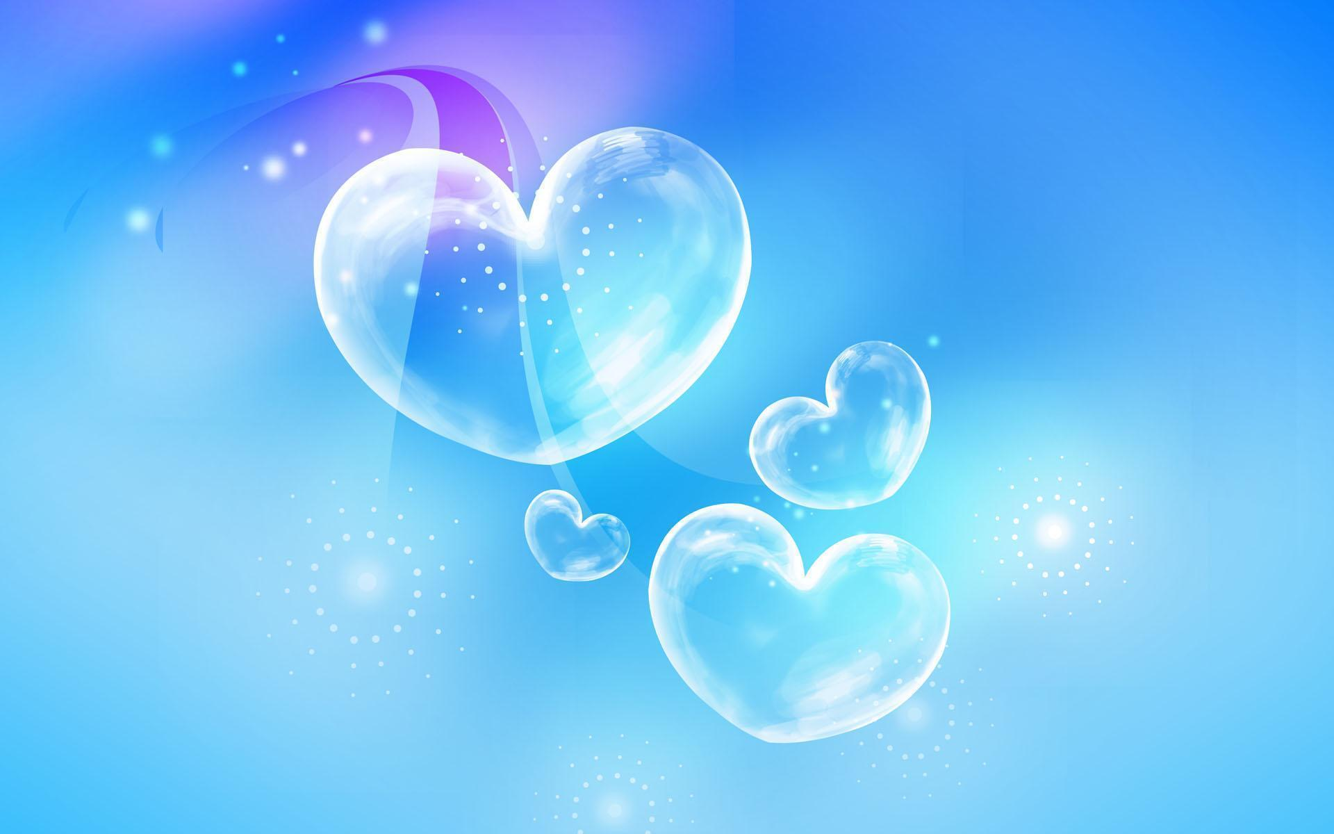 Blue Hearts Wallpapers Wallpaper Cave