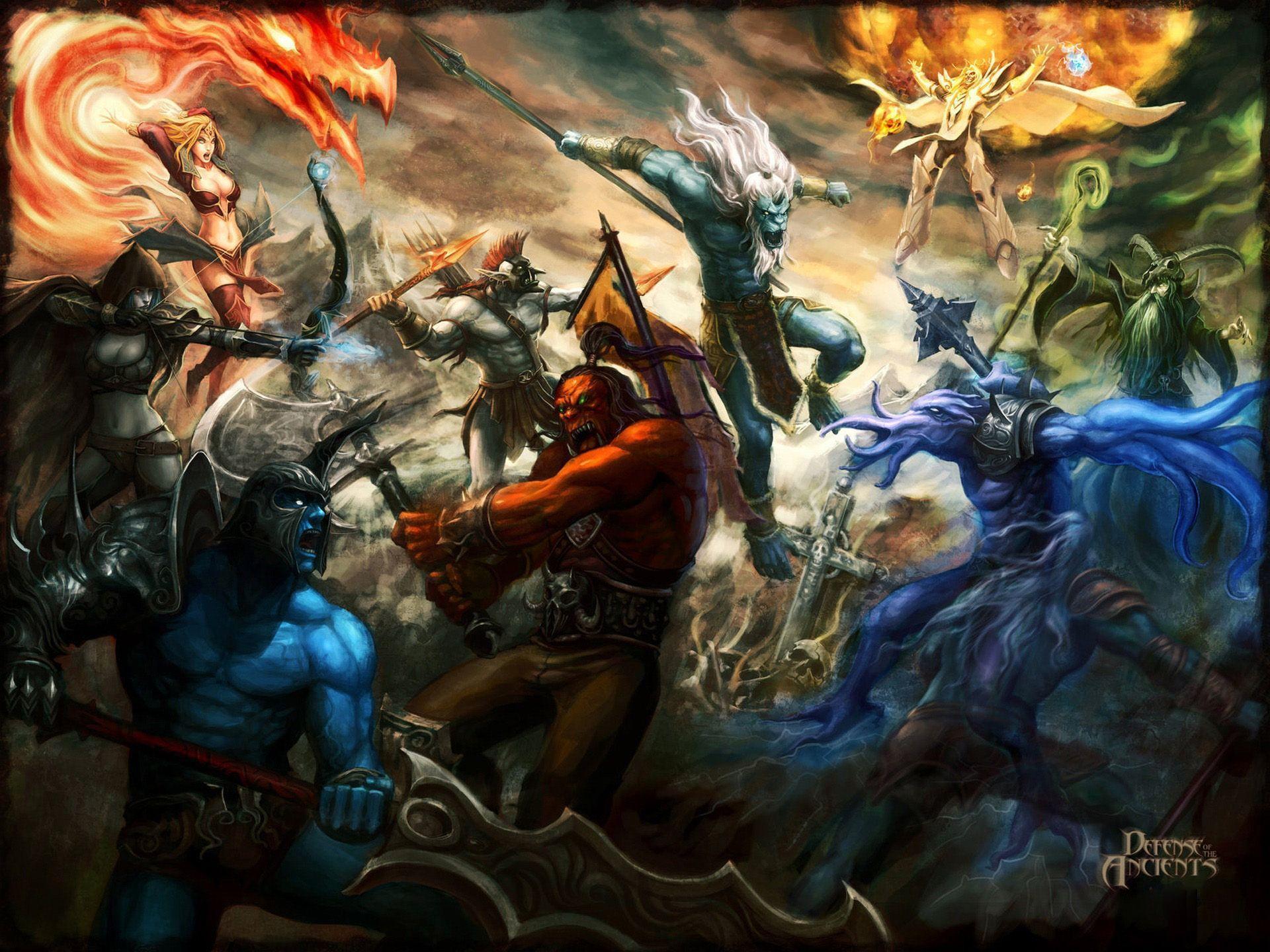 Warcraft 3 Wallpapers Wallpaper Cave