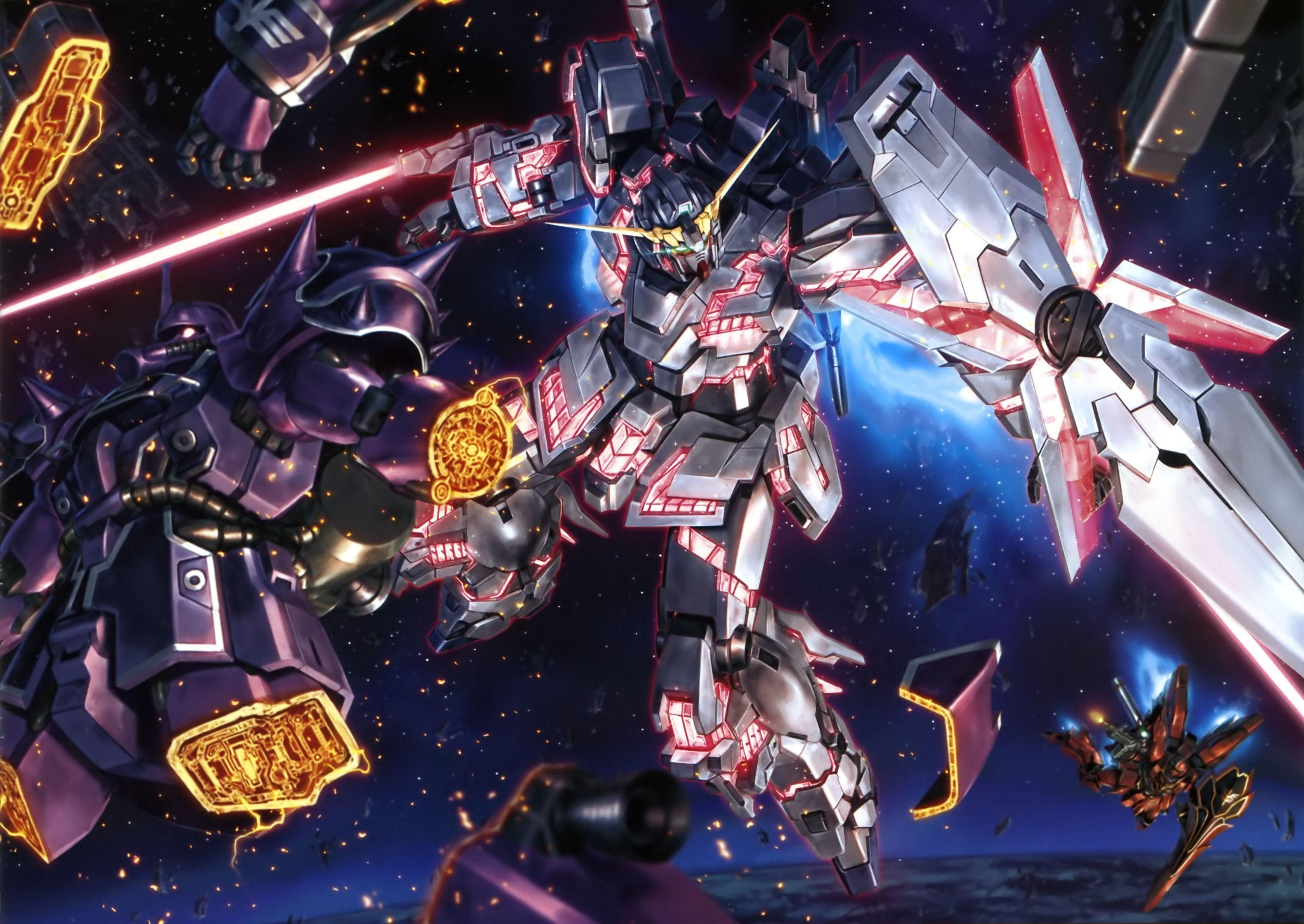 Mobile Suit Gundam Unicorn Wallpapers - Wallpaper Cave