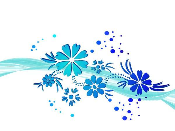 Blue Flowers Backgrounds - Wallpaper Cave