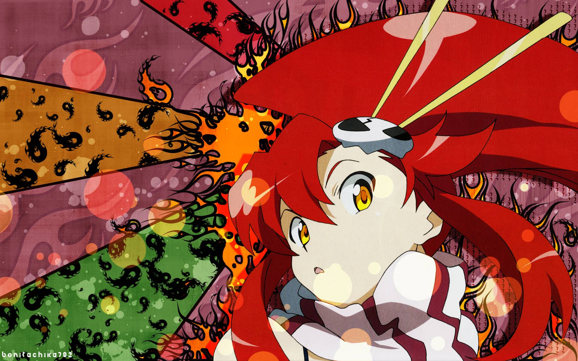 Gurren Lagann Yoko Wallpapers Wallpaper Cave