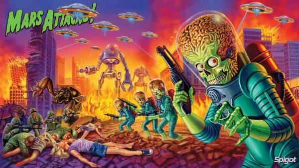 Mars Attacks Wallpapers - Wallpaper Cave