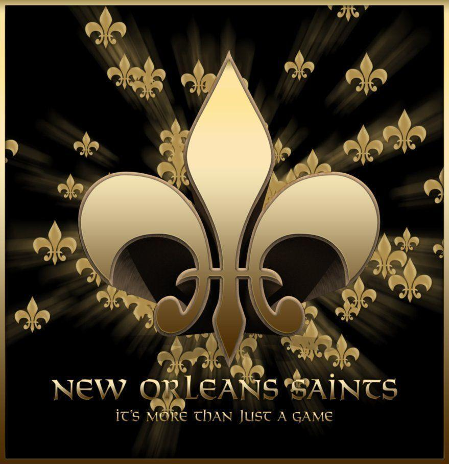 Saints Fleur De Lis Background