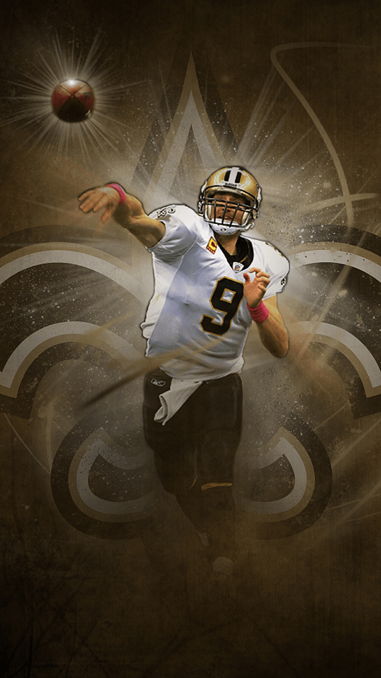 Download New Orleans Saints Wallpaper Iphone Gallery