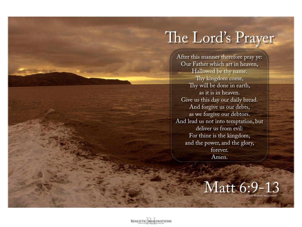Lords Prayer Wallpapers