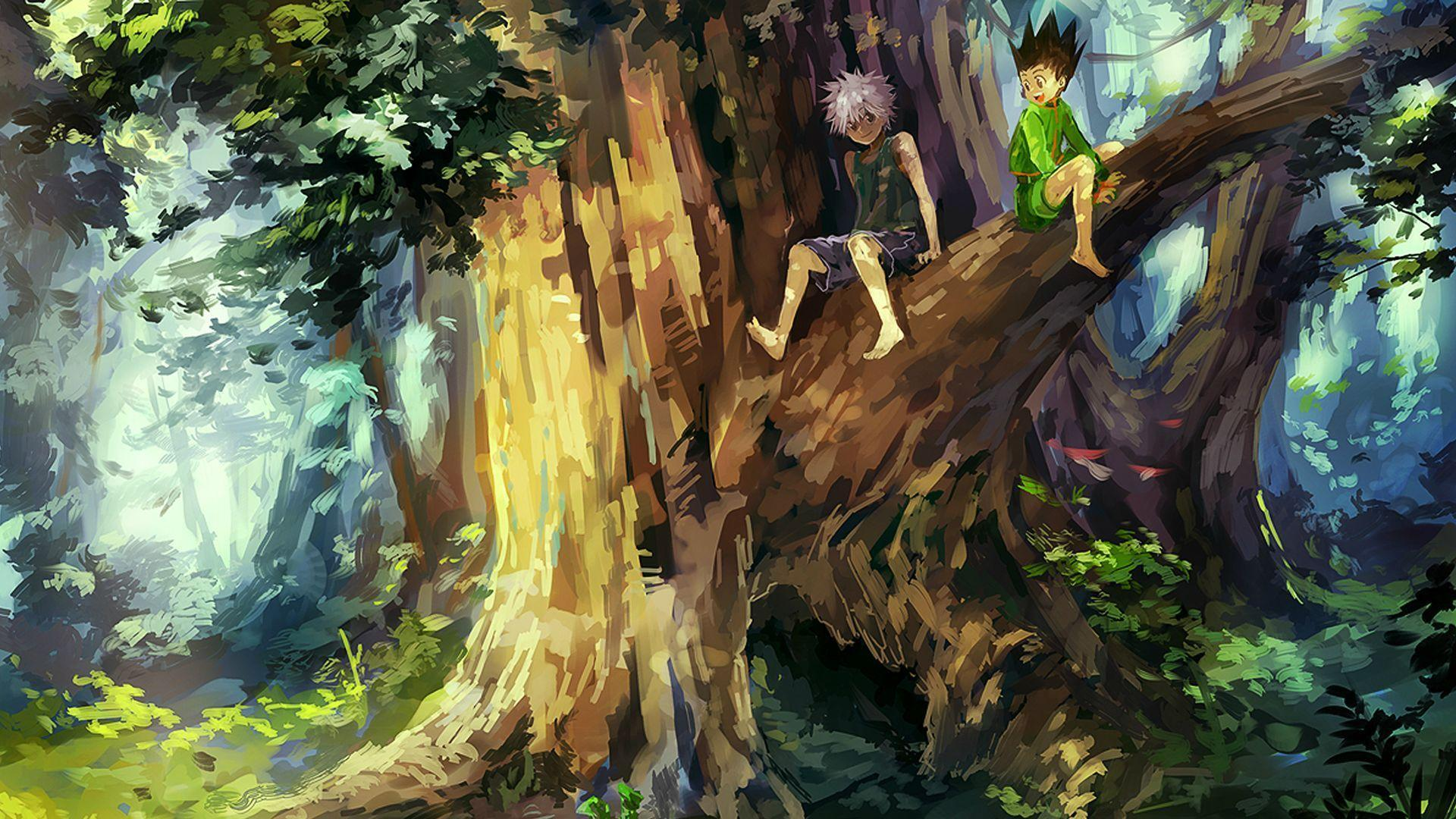 Make your device cooler and more beautiful. Hunter × Hunter Wallpapers - Wallpaper Cave
