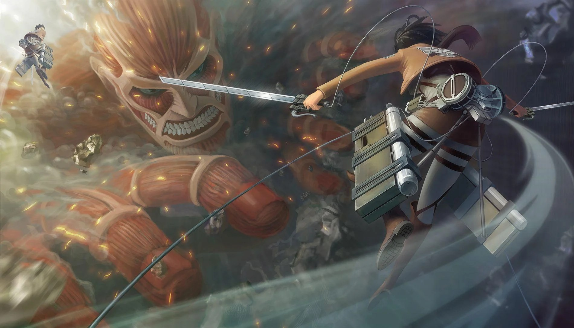 On april 15, 1912, the titanic entered history as one of the most notorious disasters at sea when the unsinkable ship struck an iceberg. Attack On Titan Wallpapers - Wallpaper Cave