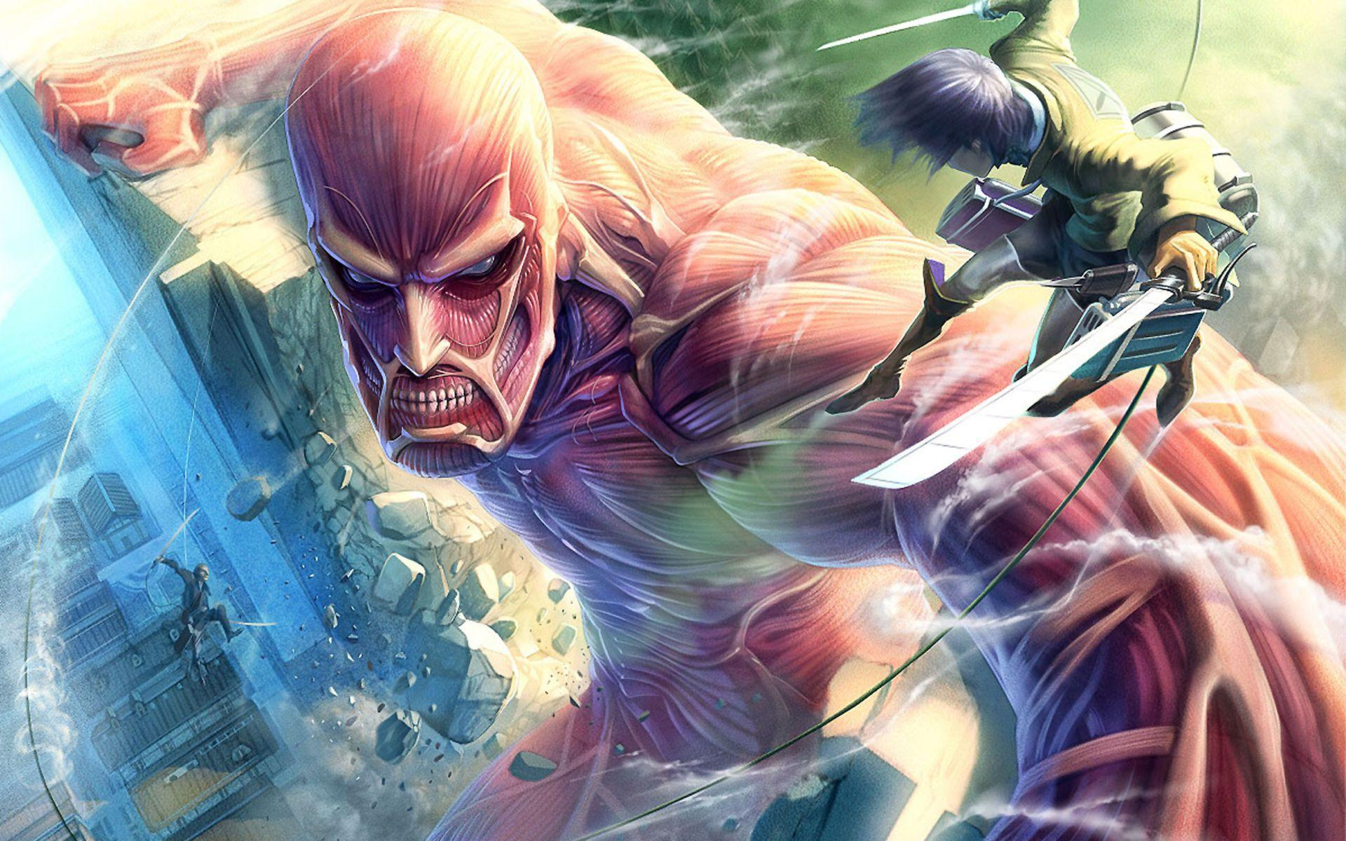 While it's fluid, clean and well draw. Attack On Titan Wallpapers - Wallpaper Cave