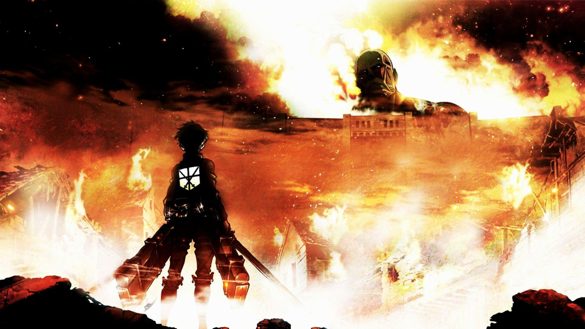 The wallpaper trend is going strong. Attack On Titan Wallpapers - Wallpaper Cave