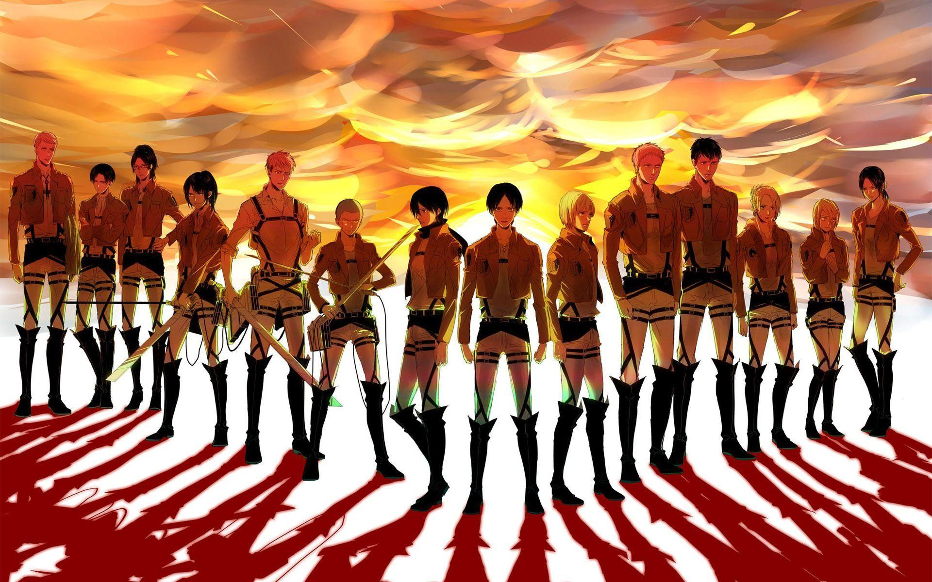 It can be exceptionally beautiful and interesting, extraordinarily complex and also minimalistic. Attack On Titan Wallpapers - Wallpaper Cave