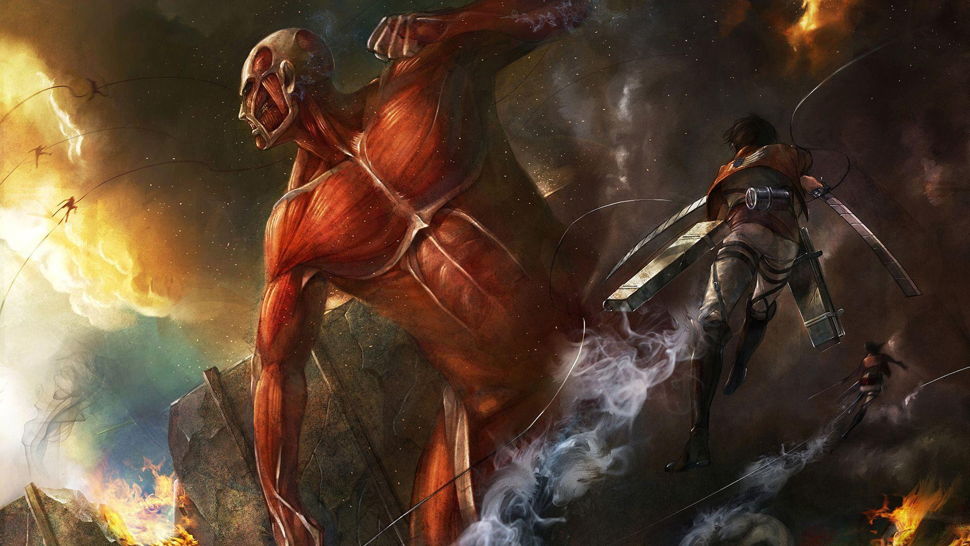 There's always talk about the quality animation in attack on titan. Attack On Titan Wallpapers - Wallpaper Cave