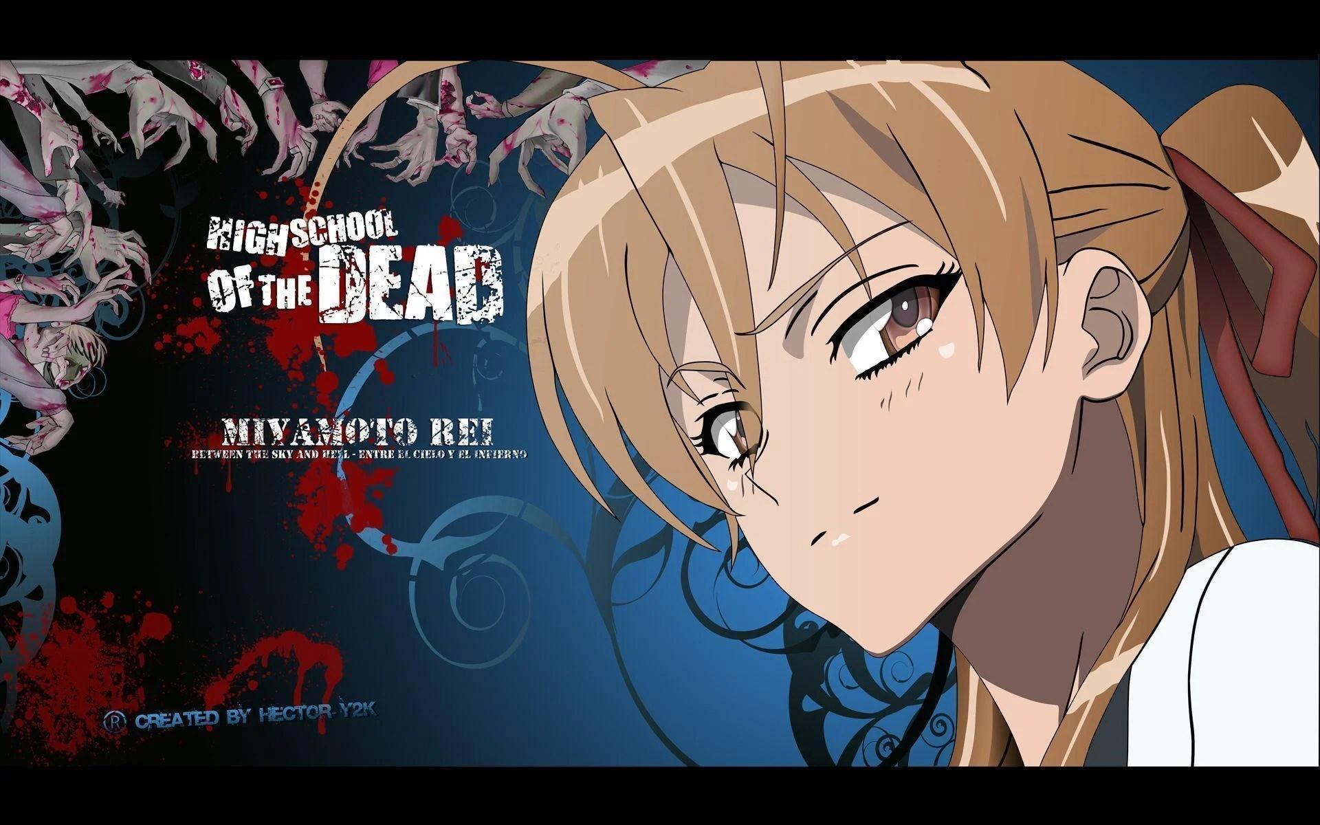 Highschool of the dead, hotd, saya takagi, anime, hd wallpaper. Highschool Of The Dead Wallpapers - Wallpaper Cave