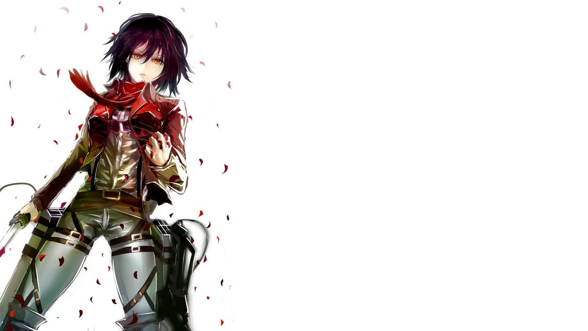 Mikasa attack on titan wallpaper 4k for desktop, iphone, pc, laptop, computer, android phone, smartphone, imac, macbook, tablet, mobile device. Attack On Titan Mikasa Ackerman Wallpapers - Wallpaper Cave