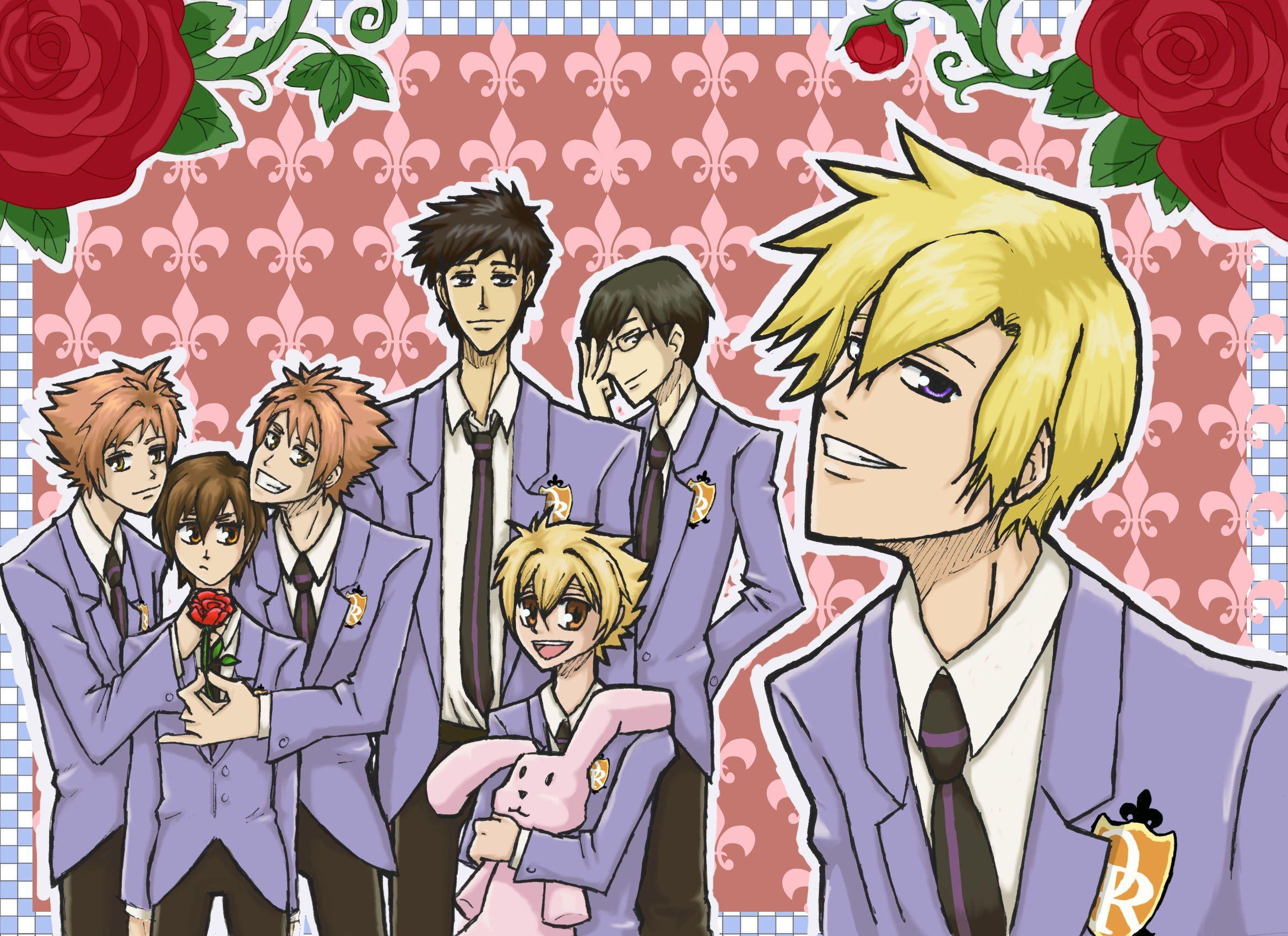 This wallpaper has been tagged with the following keywords: Ouran High School Host Club Wallpapers - Wallpaper Cave