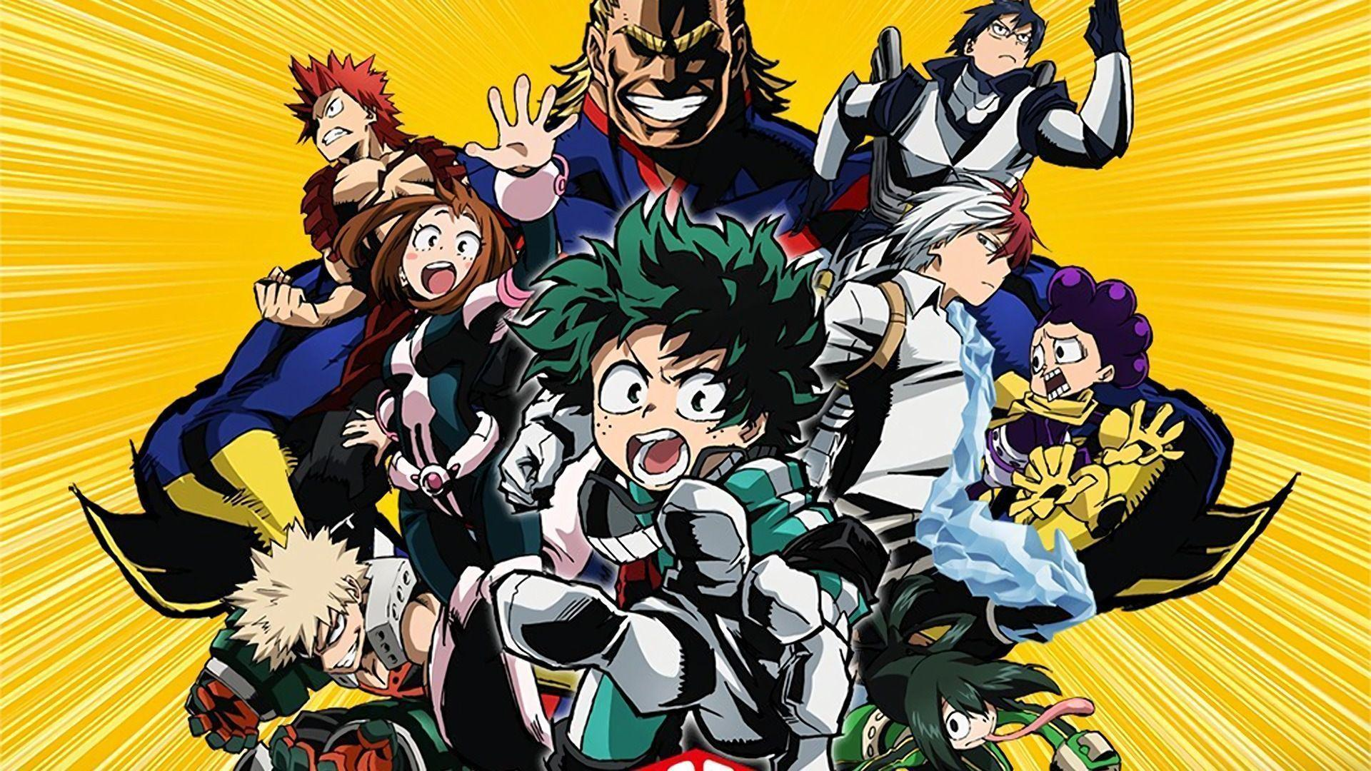 Shuffle all boku no hero academia pictures (randomized background images). My Hero Academia HD Wallpapers - Wallpaper Cave