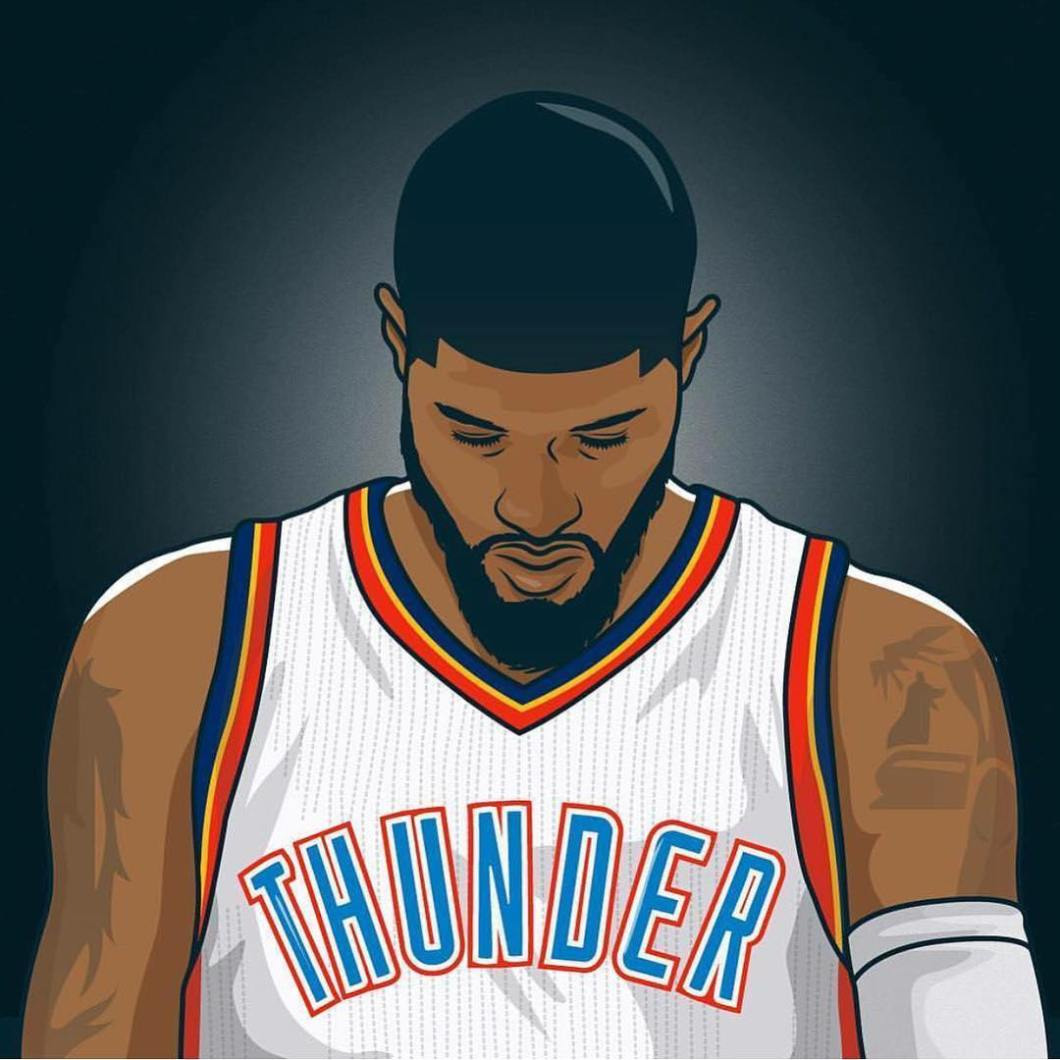 a02d508ad6d Paul George Oklahoma City Thunder Wallpapers Wallpaper Cave