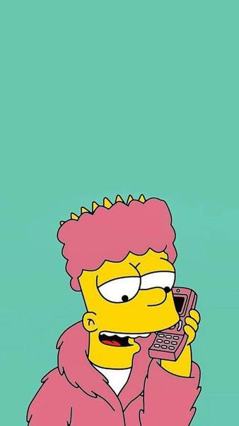 Bart Simpson Supreme Wallpaper Iphone 6 Wallpaper Iphone