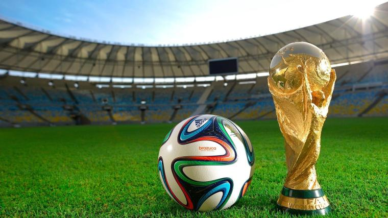 FIFA World Cup Trophy Brazuca Ball Free Wallpaper HD