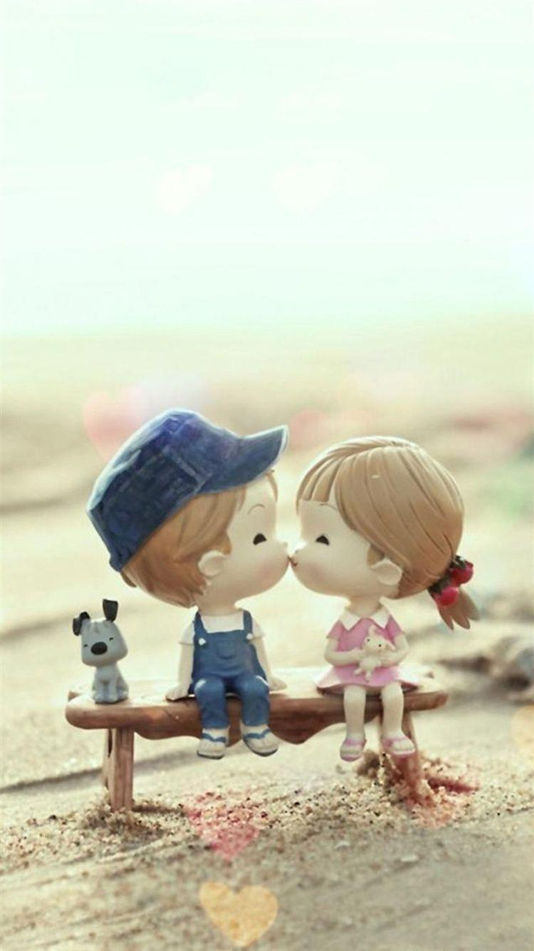 Choose resolution & download this wallpaper. Cute Cartoon Couple Wallpapers For Mobile - Wallpaper Cave