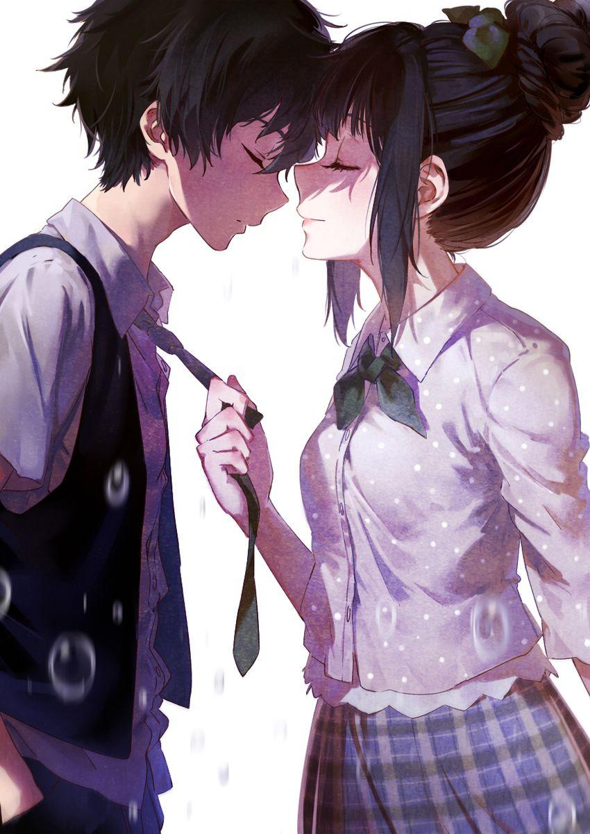Cute Anime Couple Wallpapers For Mobile Wallpaper Cave