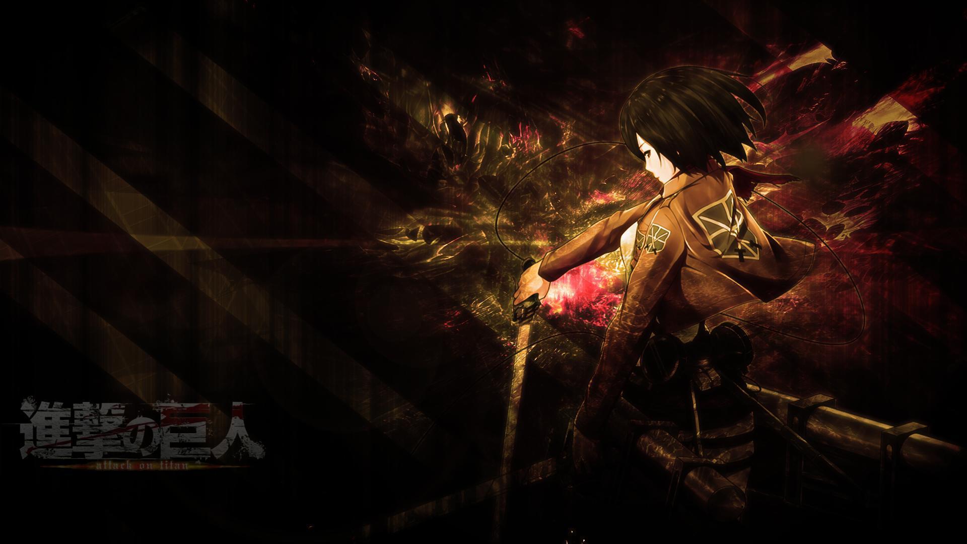 Attack on titans 1080p 2k 4k. Attack On Titan Logo Wallpapers - Wallpaper Cave
