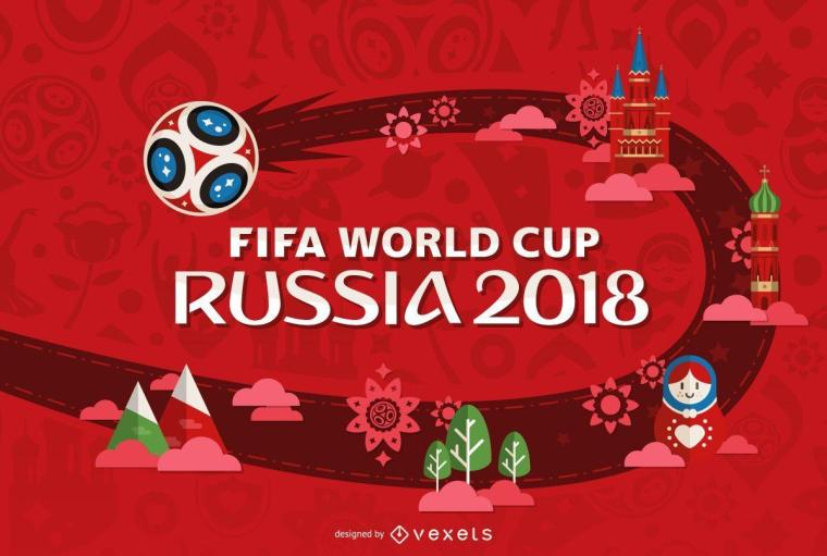 Картинки по запросу fifa world cup 2018 design | World Cup 2018 ...