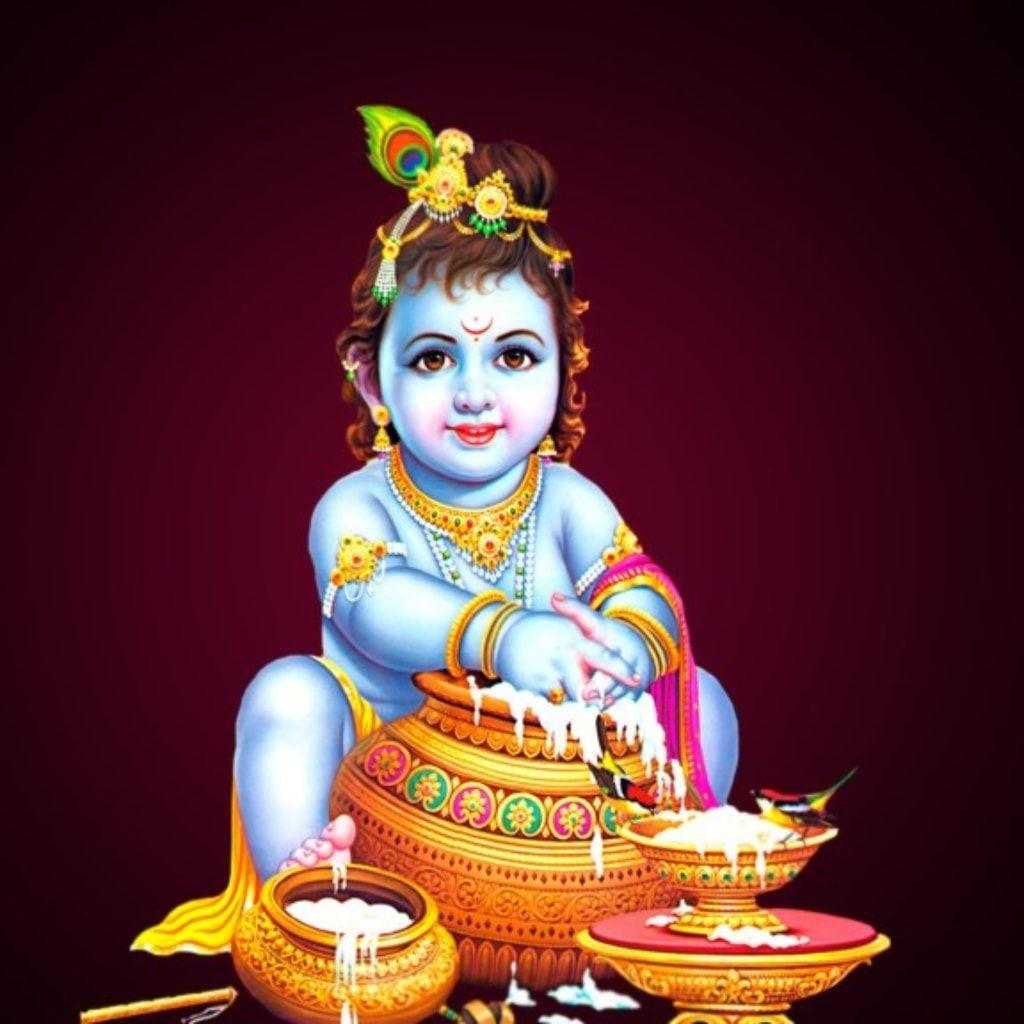 Lord Krishna Hd Wallpapers For Mobile Wallpaper Cave