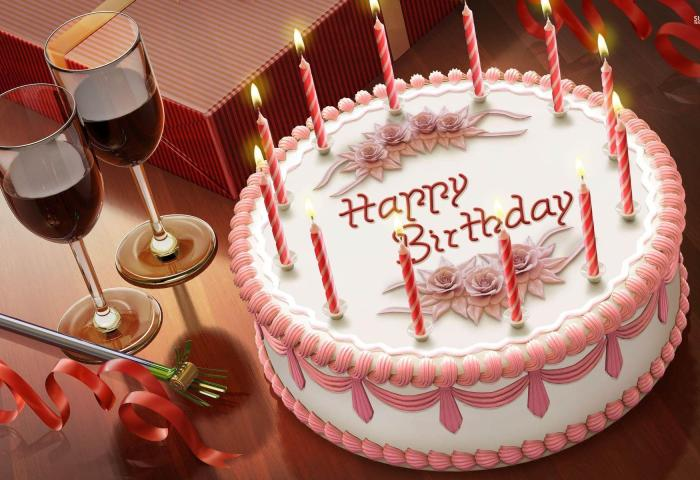 Happy Birthday Cake Wallpapers Wallpaper Cave
