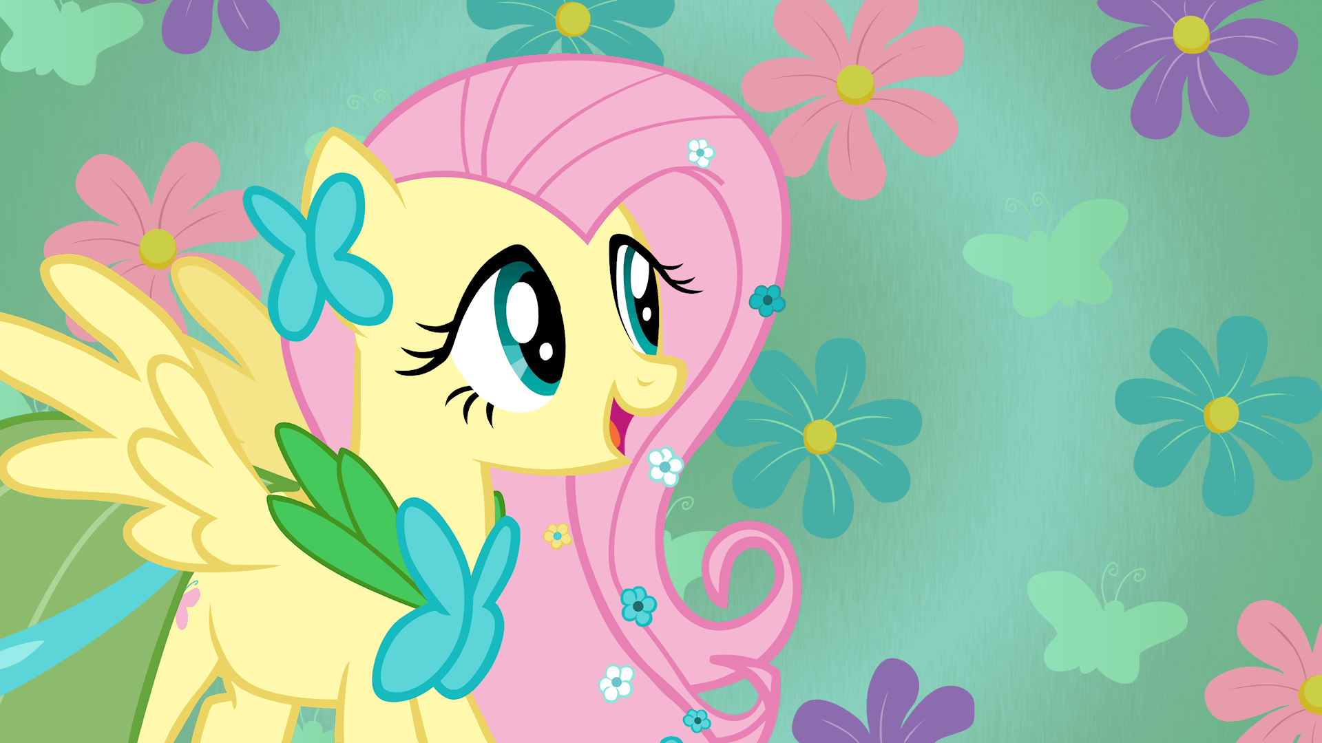 My Little Pony Fluttershy Wallpapers Wallpaper Cave