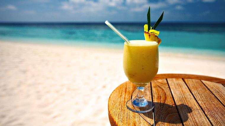 Pineapple Juice Beach HD Wallpaper - 2018 Wallpapers HD   Pineapple ...