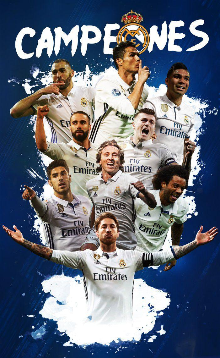Real Madrid Team 2018 Wallpapers - Wallpaper Cave