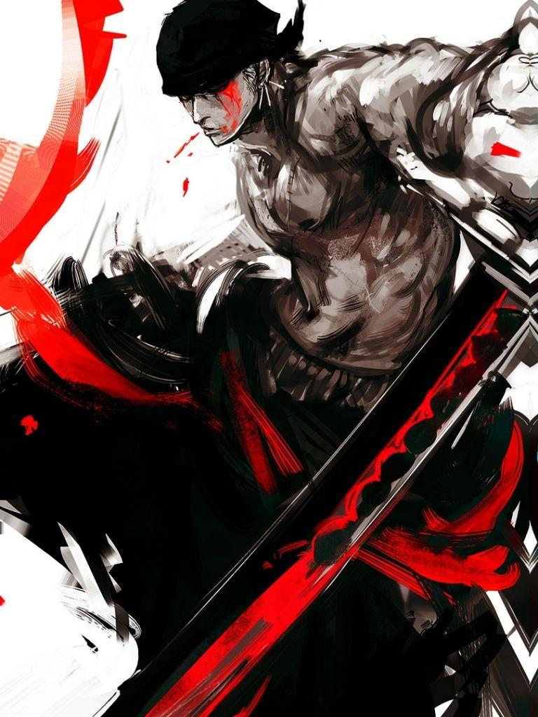 Roronoa zoro, also known as zoko, moss head, saint of the blind, saints or pirate hunter is a character in the popular anime one. One Piece Zoro Mobile Backgrounds - Wallpaper Cave