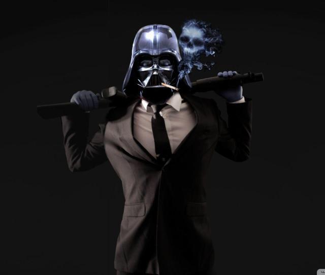 Badass Vader  E D A K Hd Desktop Wallpaper For K Ultra Hd Tv  E  A Wide
