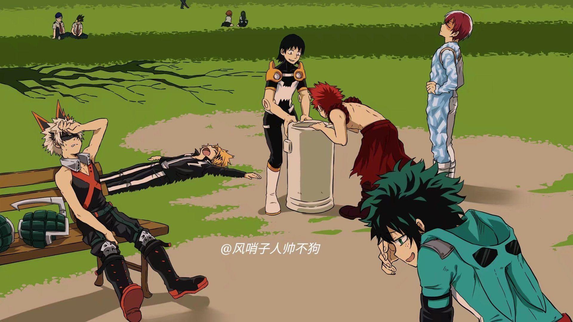 Cool features, hd my hero academia anime wallpaper backgrounds. My Hero Academia Deku X Bakugou X Todoroki Wallpapers ...