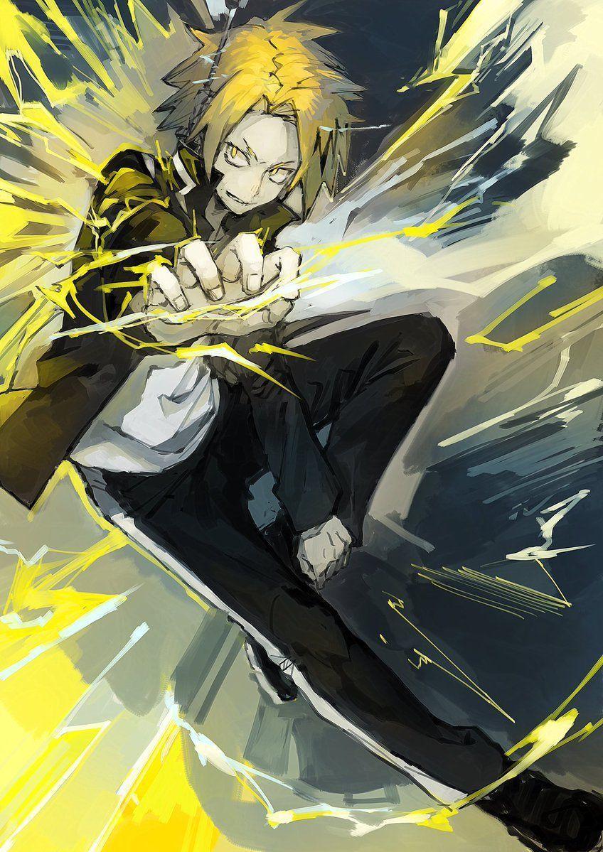 Dude you are my hero. Denki Kaminari Wallpapers - Wallpaper Cave