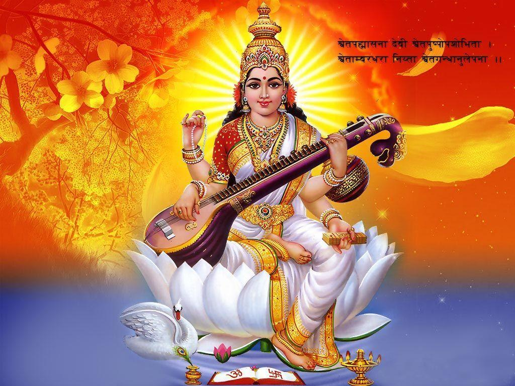 Saraswati Wallpapers Wallpaper Cave