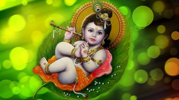 Little Krishna Wallpapers - Wallpaper Cave
