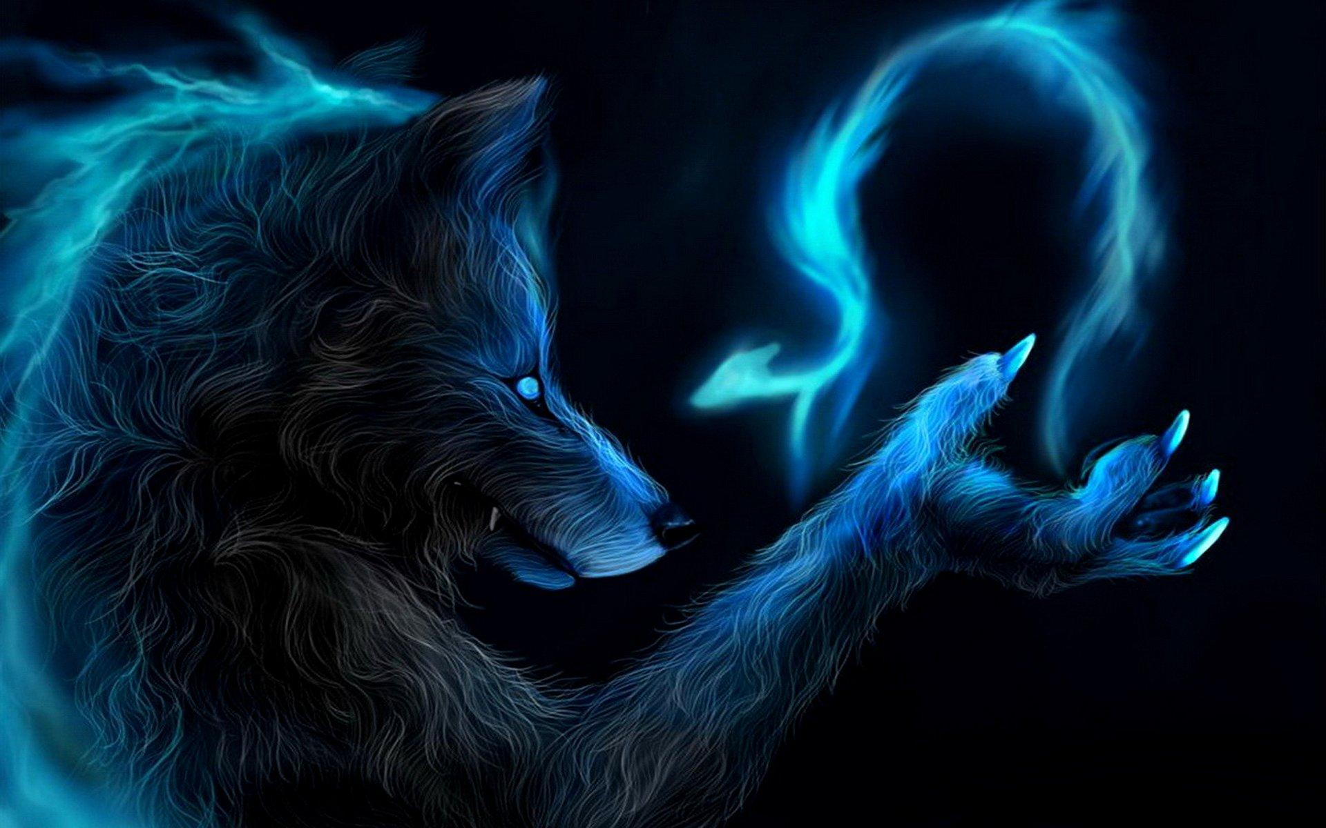 Wolf Wallpaper Creepy - Scary Animal ...