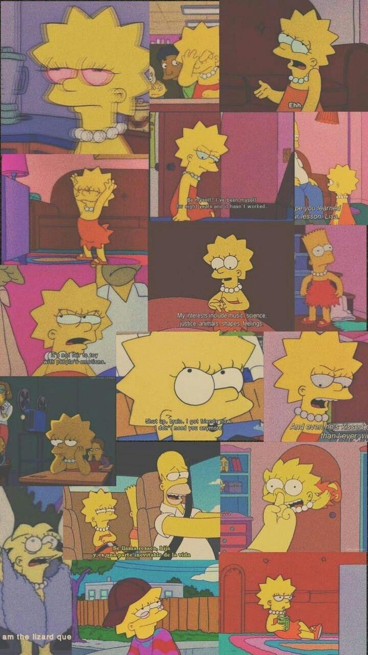 Sad Wallpapers Simpsons Amatwallpaper Org