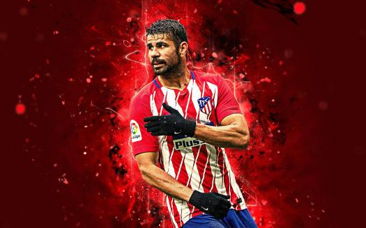 Diego Costa Atlético Madrid Wallpapers - Wallpaper Cave