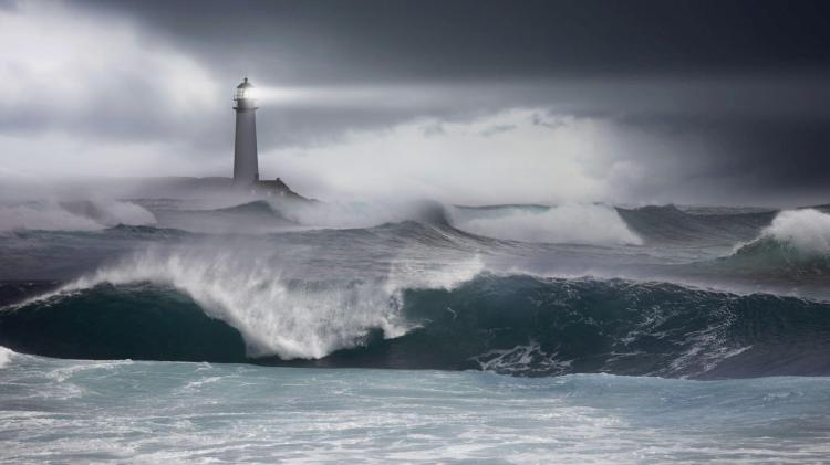 Image result for lighthouse images storm