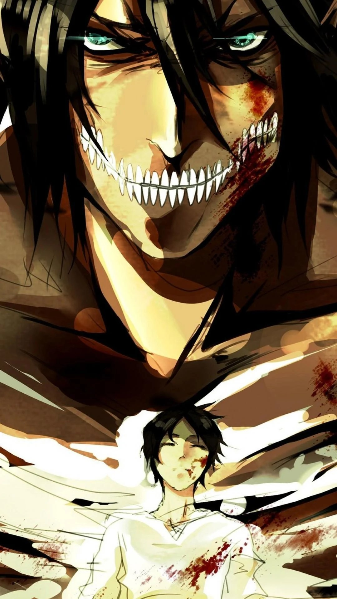 Attack on titan wallpaper, is a new kind of artistic atmosphere. Attack On Titan Eren Yeager Wallpapers - Wallpaper Cave