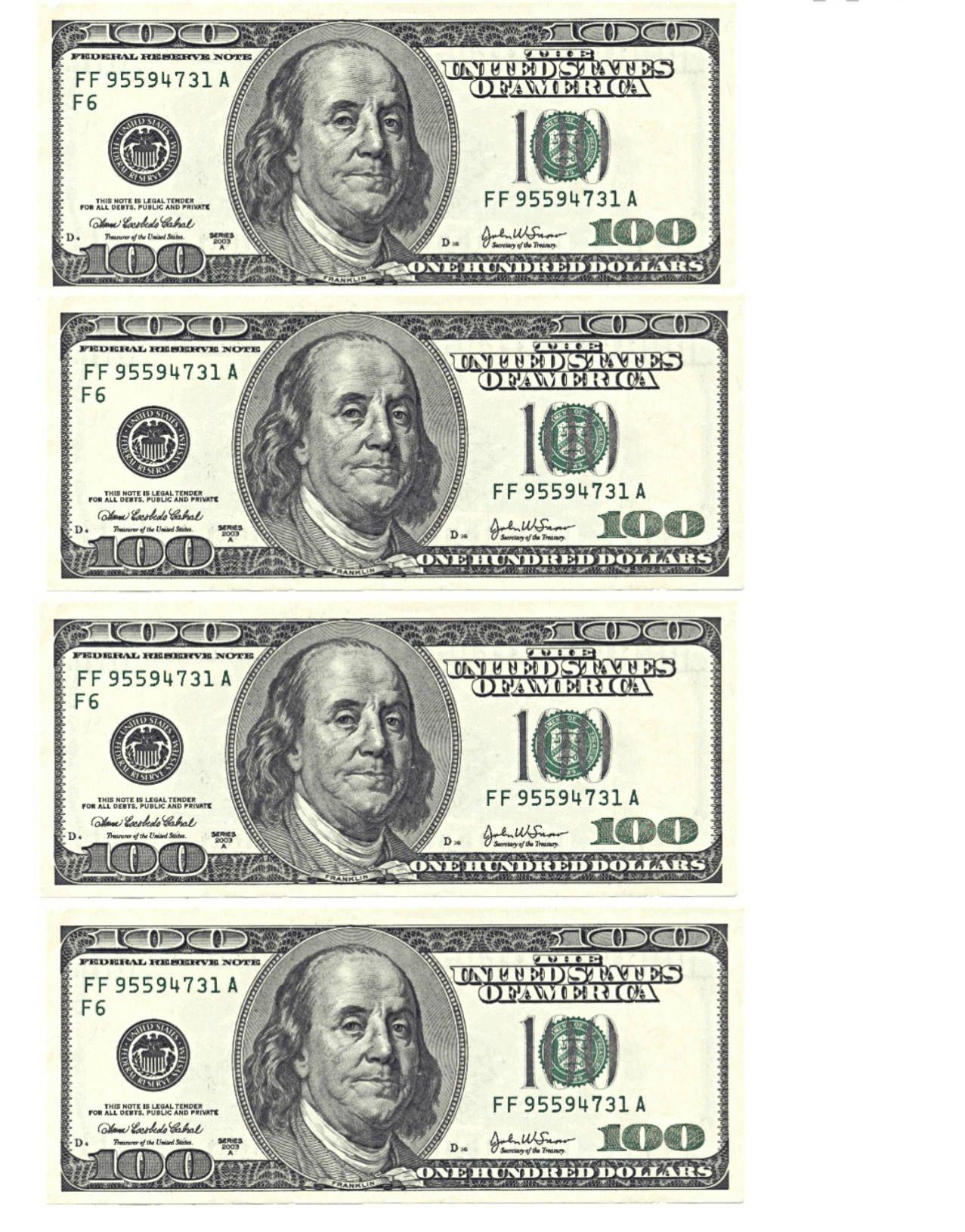 100 Bill Wallpapers