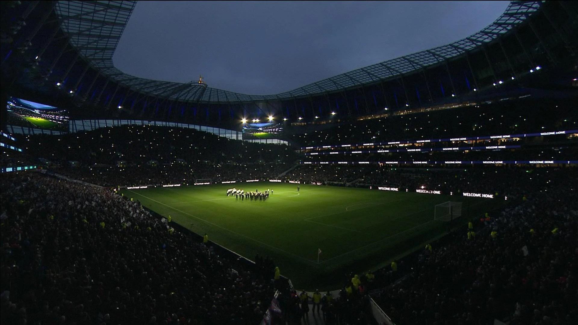 Tottenham Hotspur Stadium Wallpaper 4k