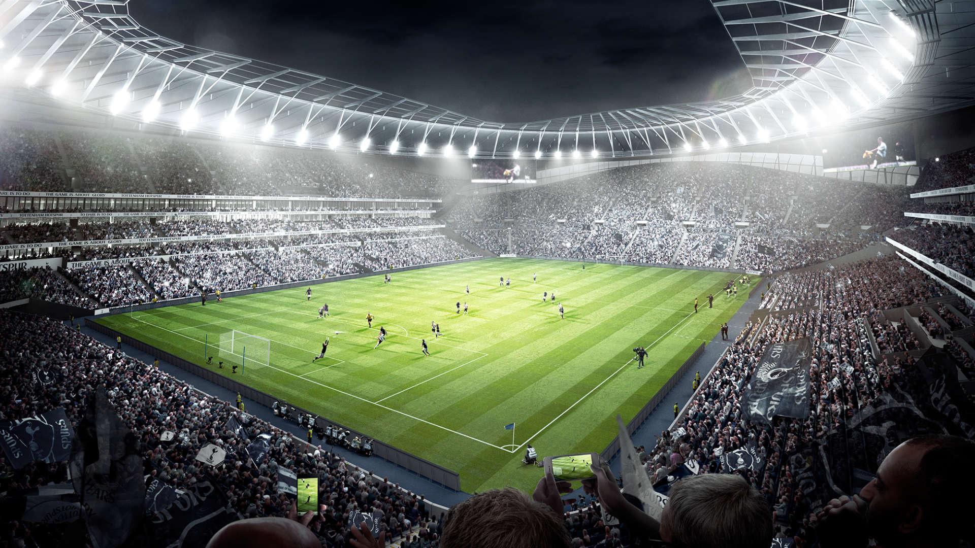 Tottenham Hotspur Stadium Wallpaper