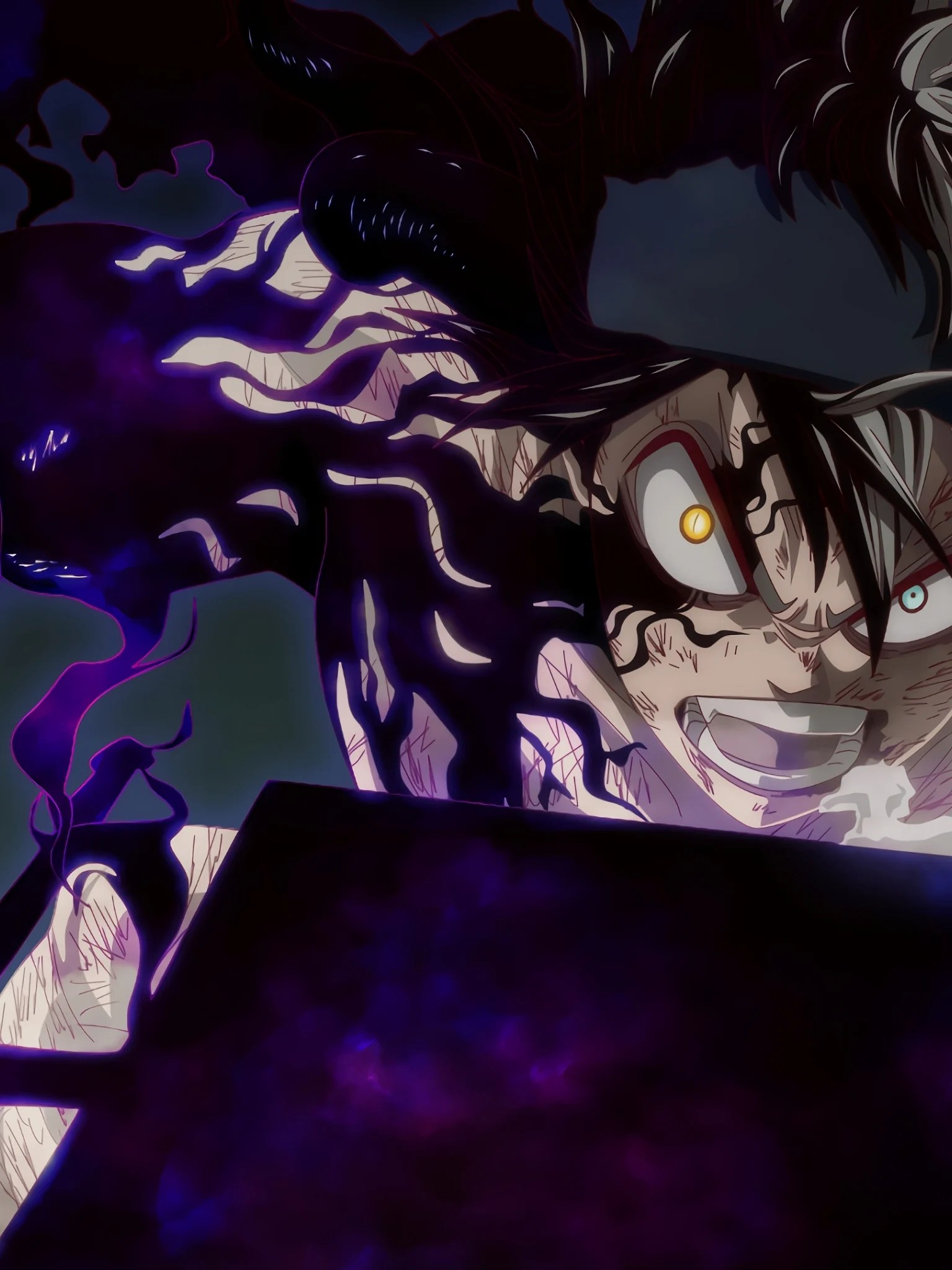Are you a black clover anime (the whole clover) biggest fan? Phone Asta Black Clover Wallpapers - Wallpaper Cave