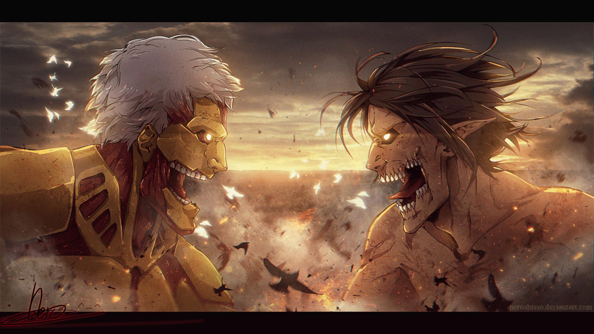 Levi and eren yeager attack on titan shingeki no kyojin 4k wallpaper 3840x2160. Titan Eren Berserk Wallpapers - Wallpaper Cave