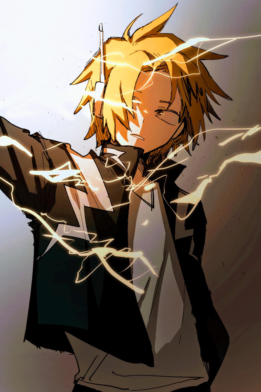 Dude you are my hero. Denki Kaminari My Hero Academia Wallpapers - Wallpaper Cave
