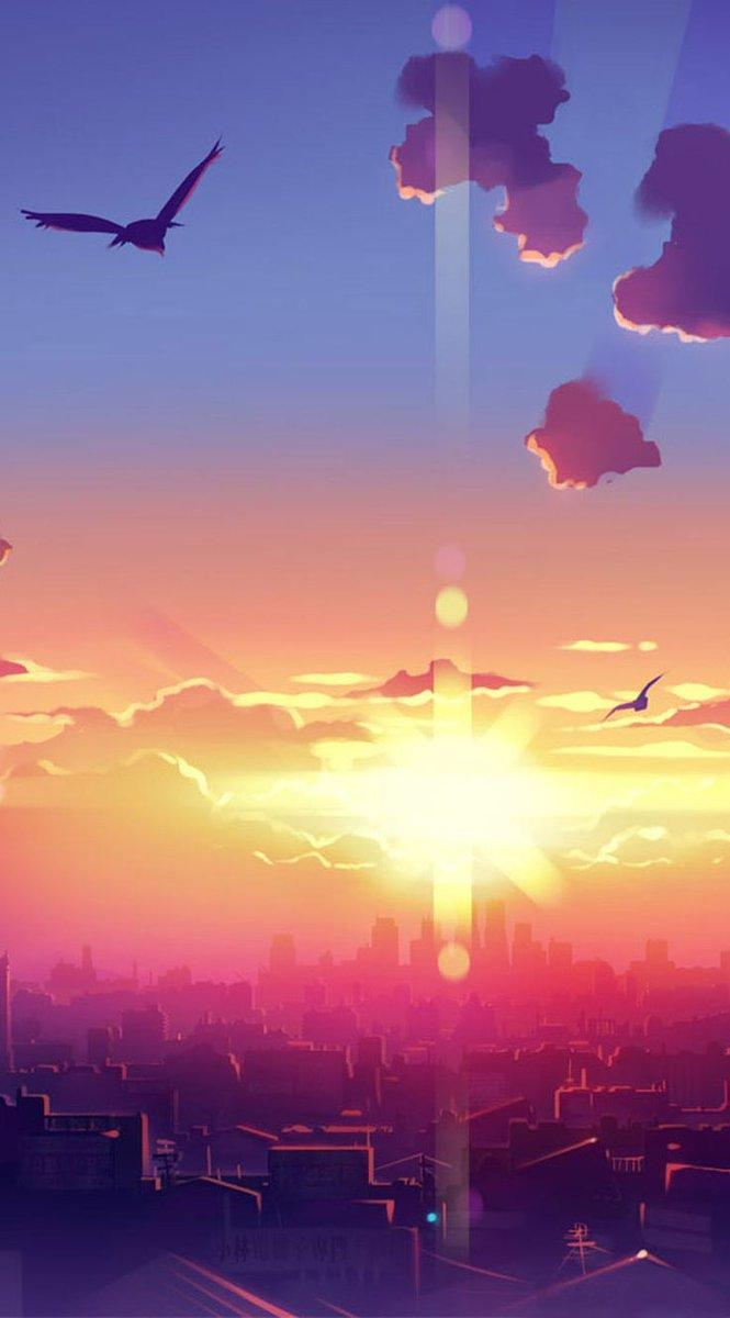 Anime Scenery Android Wallpapers Wallpaper Cave